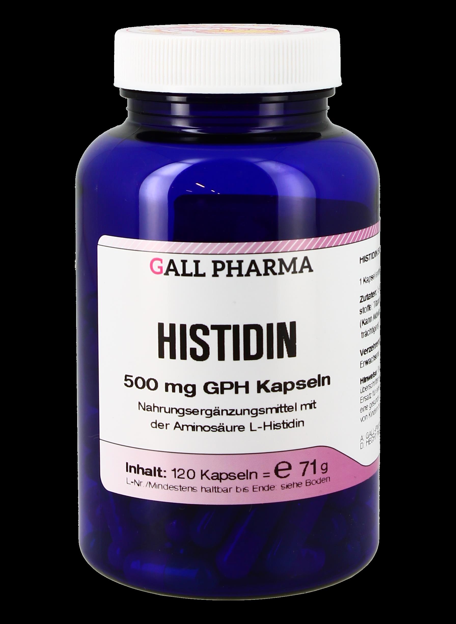 Histidin 500 mg GPH Kapseln