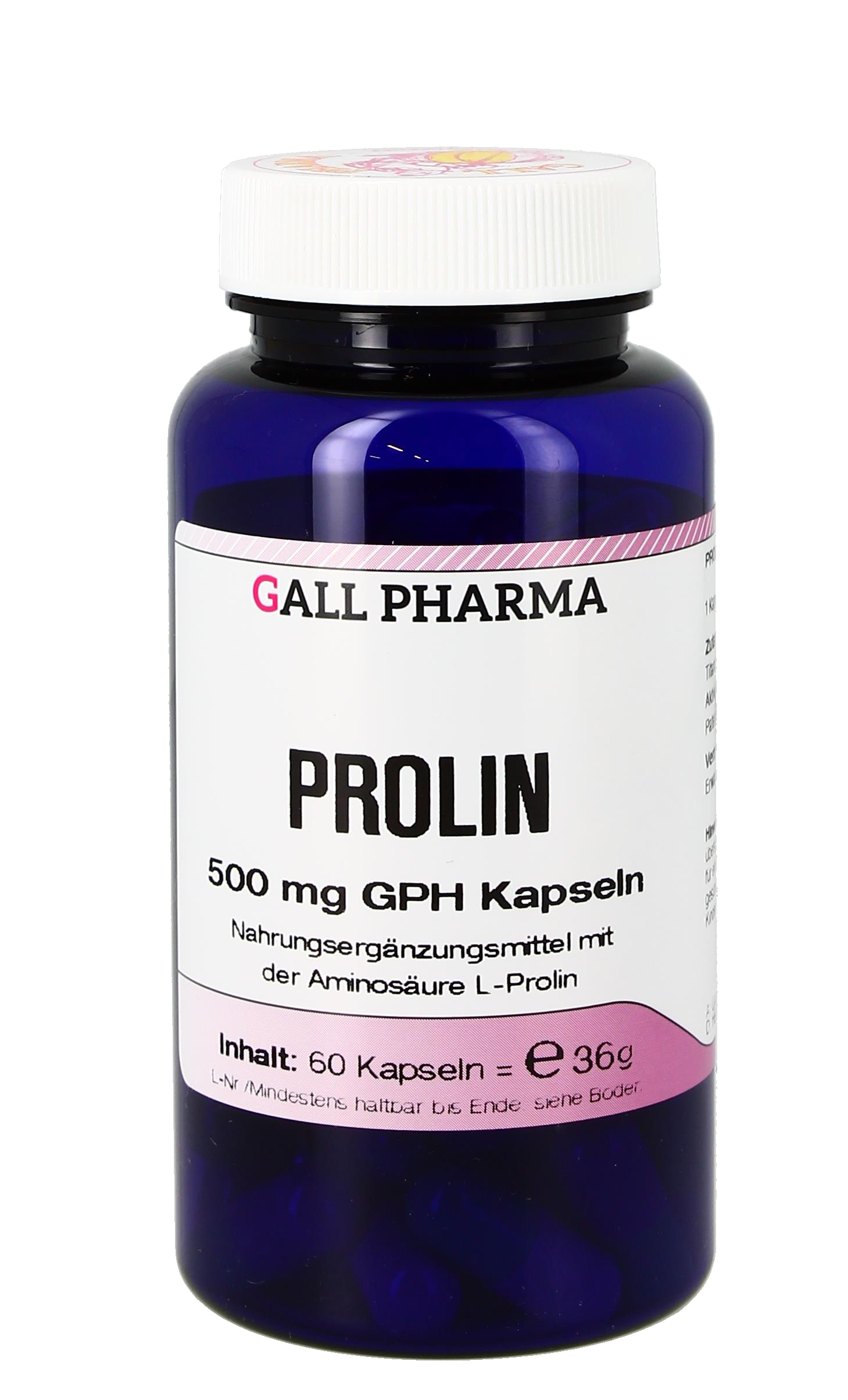 Prolin 500 mg GPH Kapseln