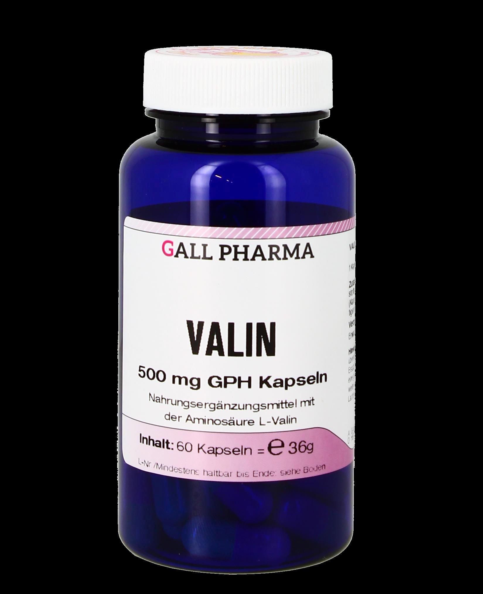 Valin 500 mg GPH Kapseln