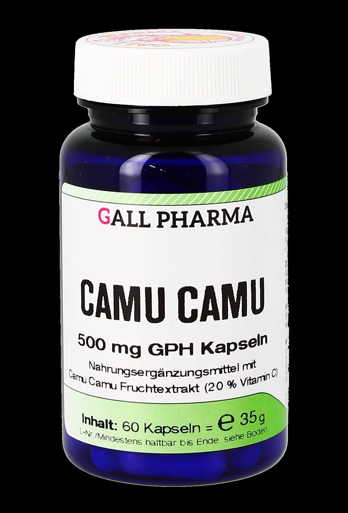Camu Camu 500 mg GPH Kapseln