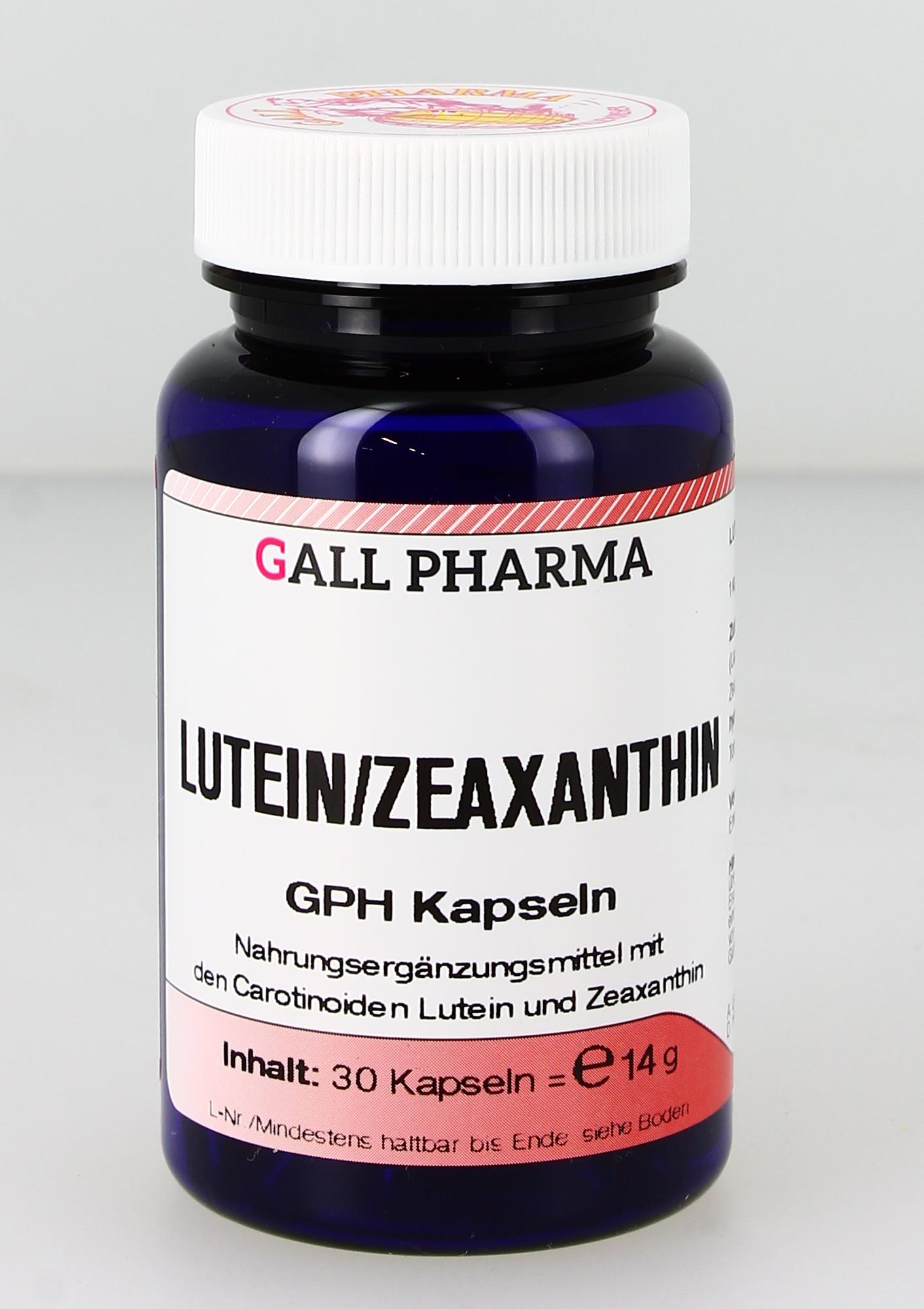 Lutein/Zeaxanthin 1:1 GPH Kapseln