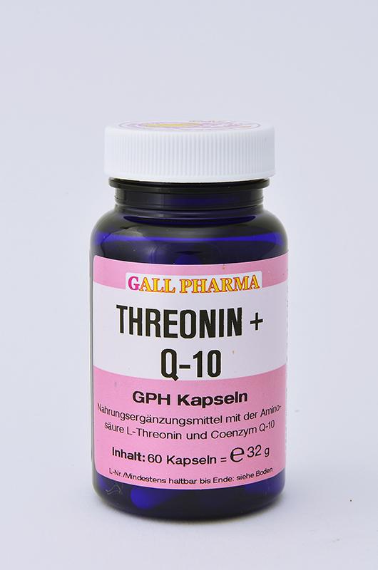 Threonin + Q-10 GPH Kapseln