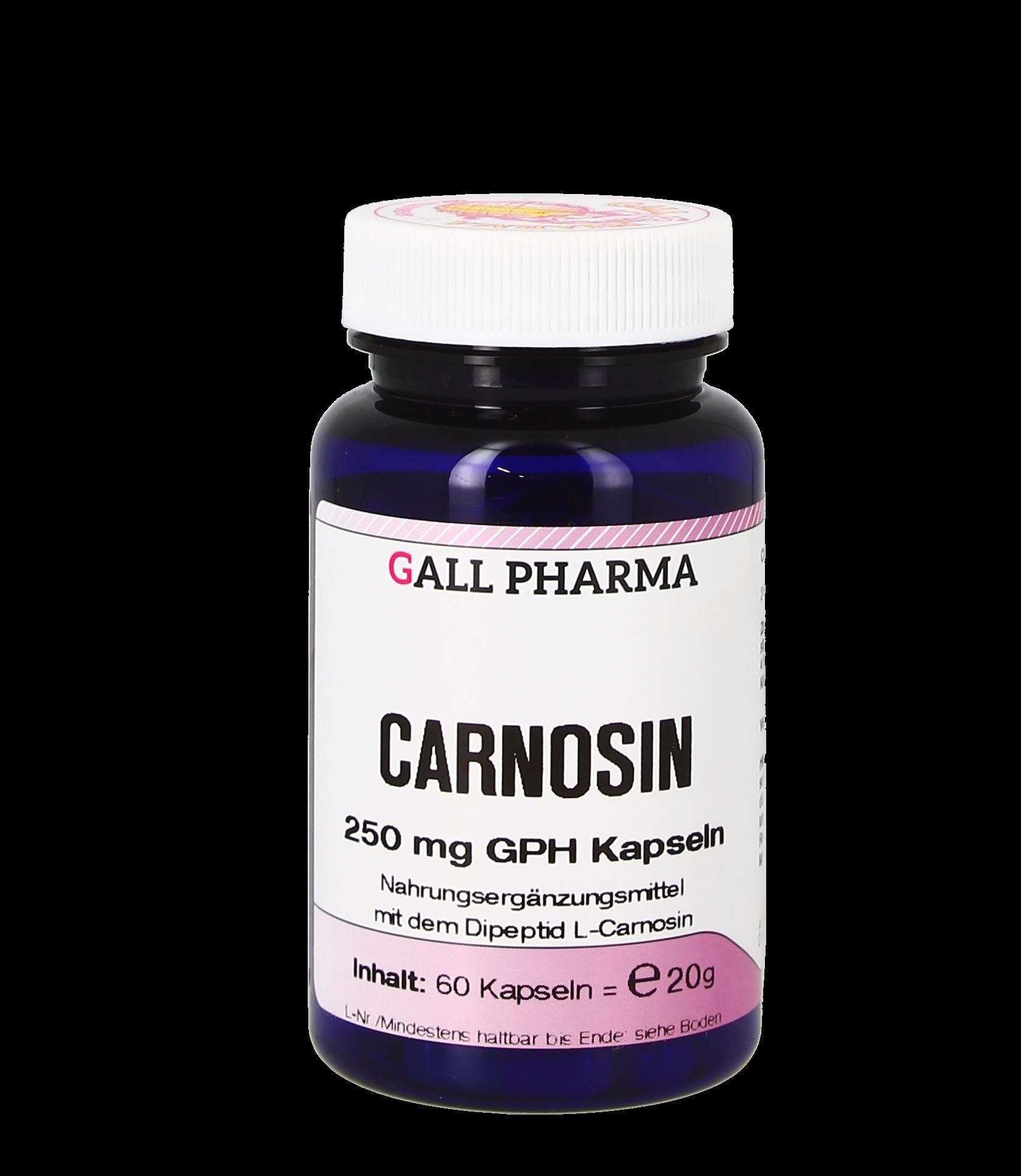 Carnosin 250 mg GPH Kapseln