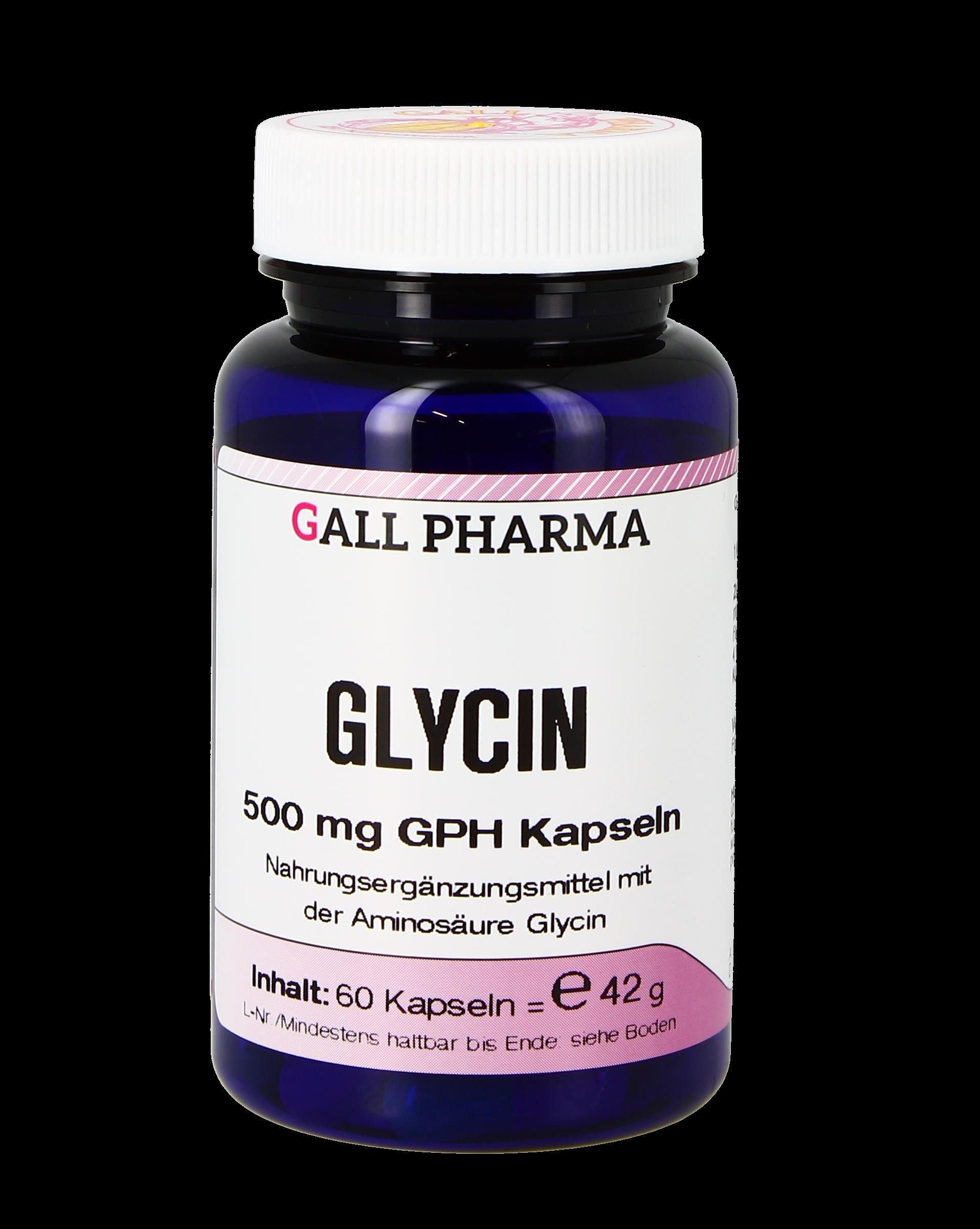 Glycin 500 mg GPH Kapseln