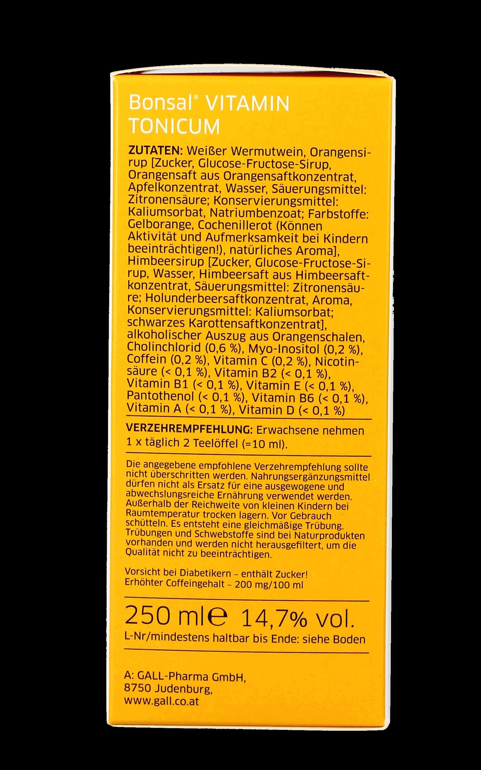 Bonsal Vitamin Tonicum 250 ML