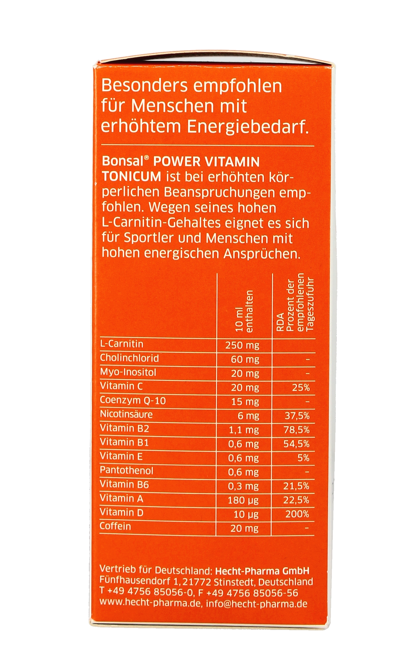Bonsal Power Vitamin Tonicum 250 ML