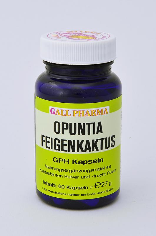 Opuntia Feigenkaktus GPH Kapseln