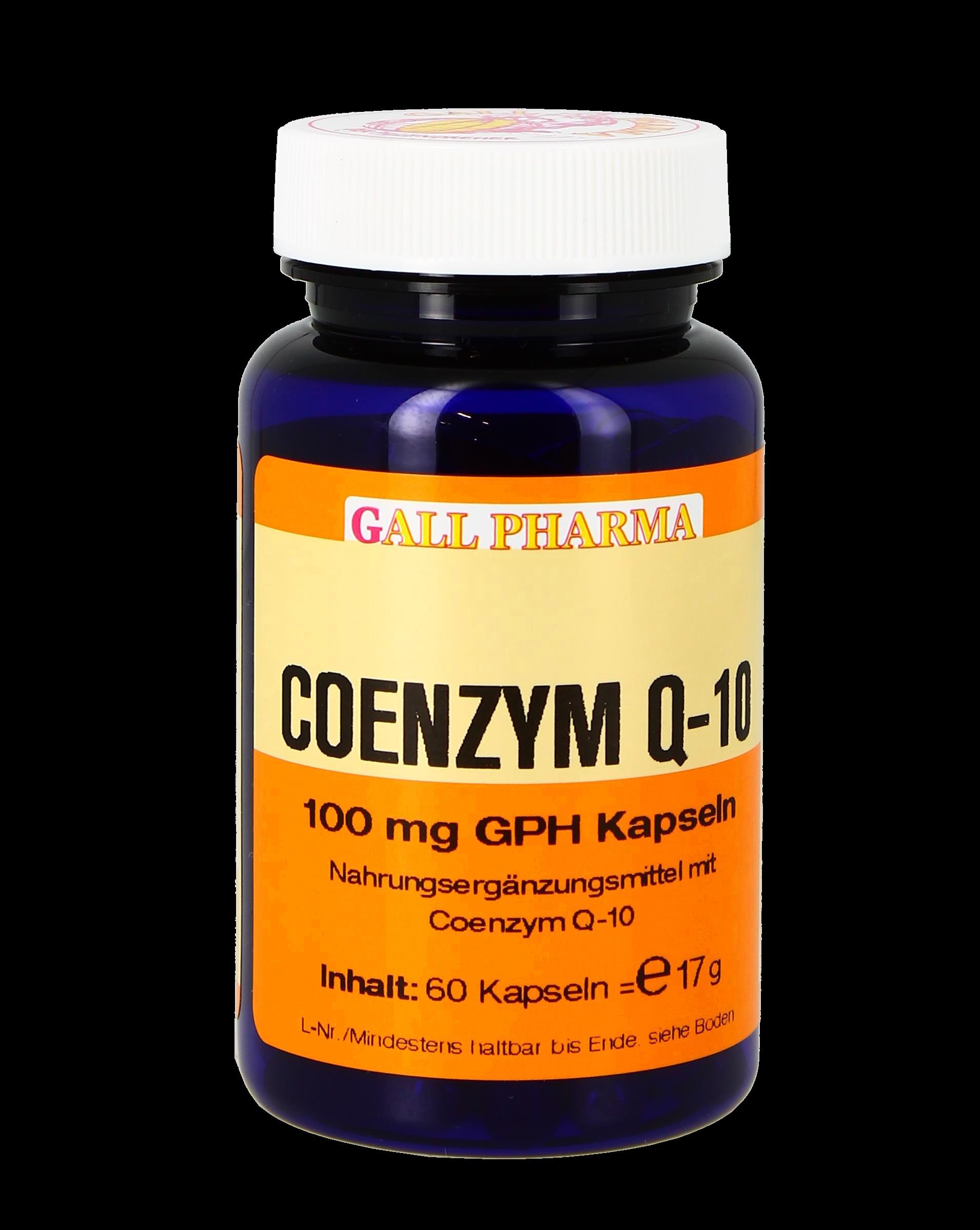 Coenzym Q-10 100 mg GPH Kapseln