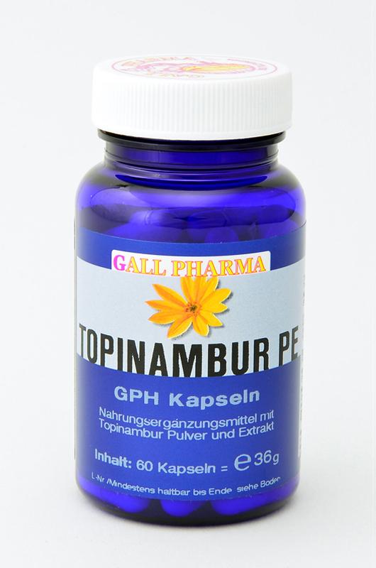 Topinambur PE GPH Kapseln