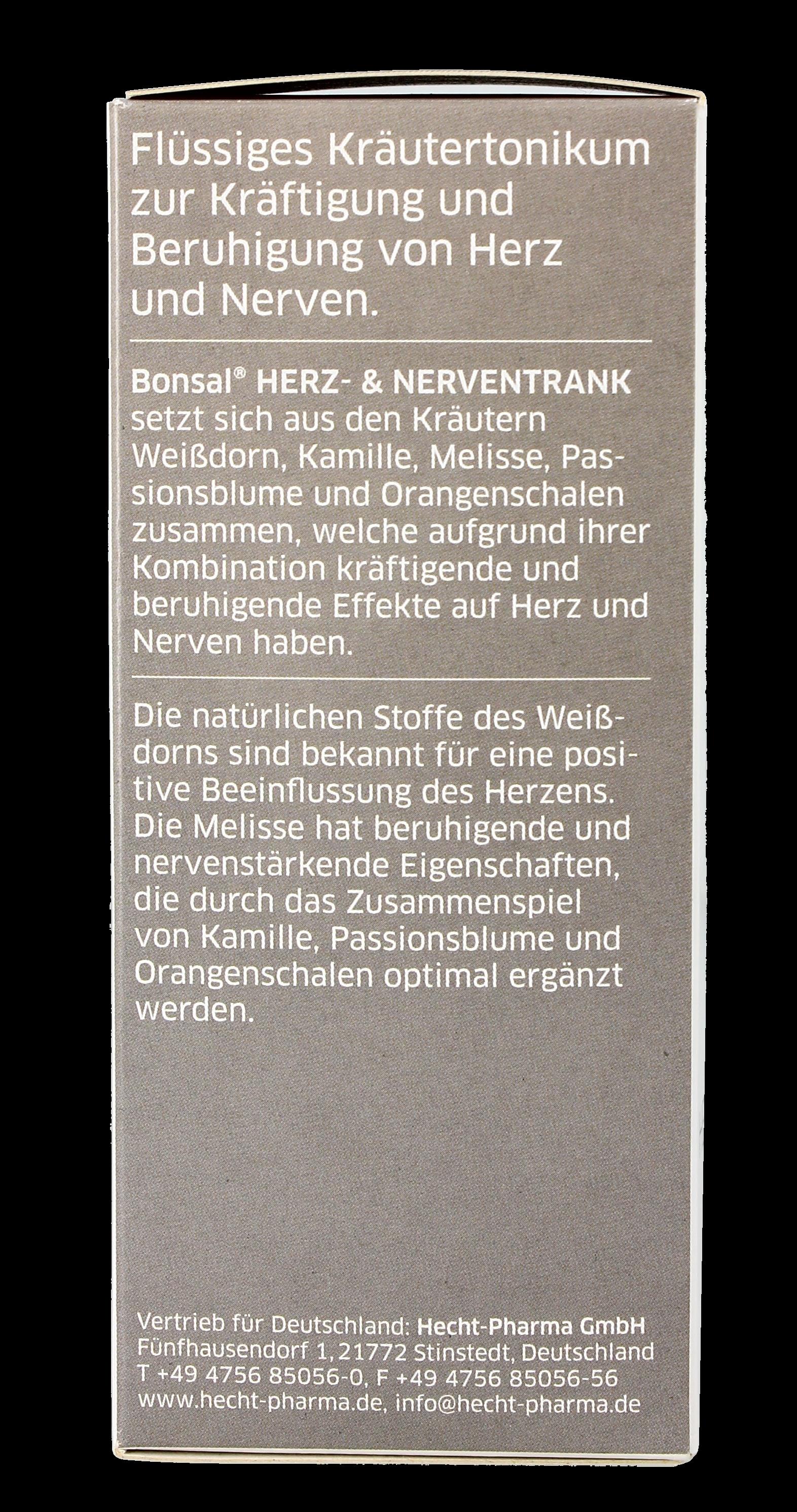 Bonsal Herz und Nerventrank 250 ML