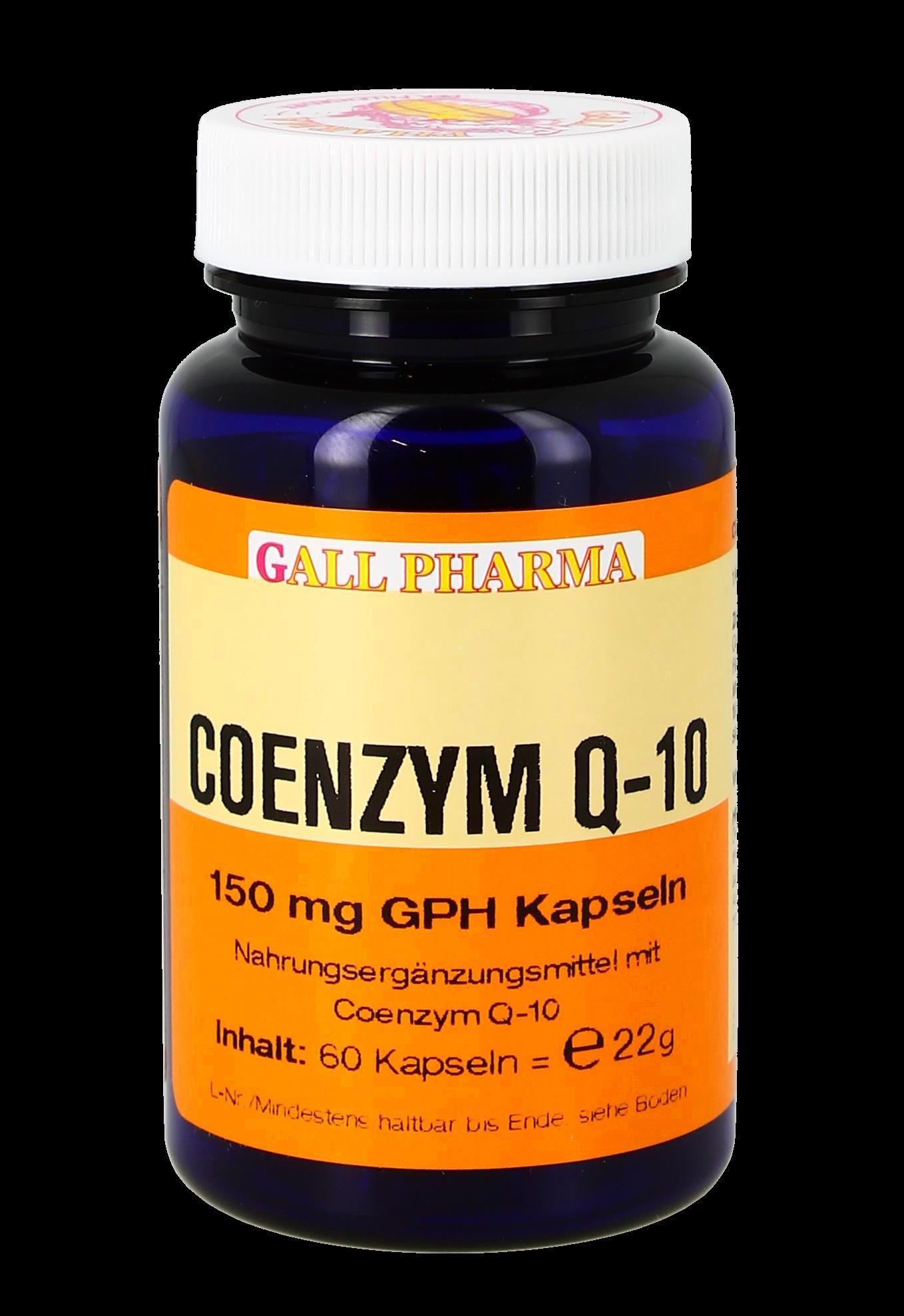 Coenzym Q-10 150 mg GPH Kapseln