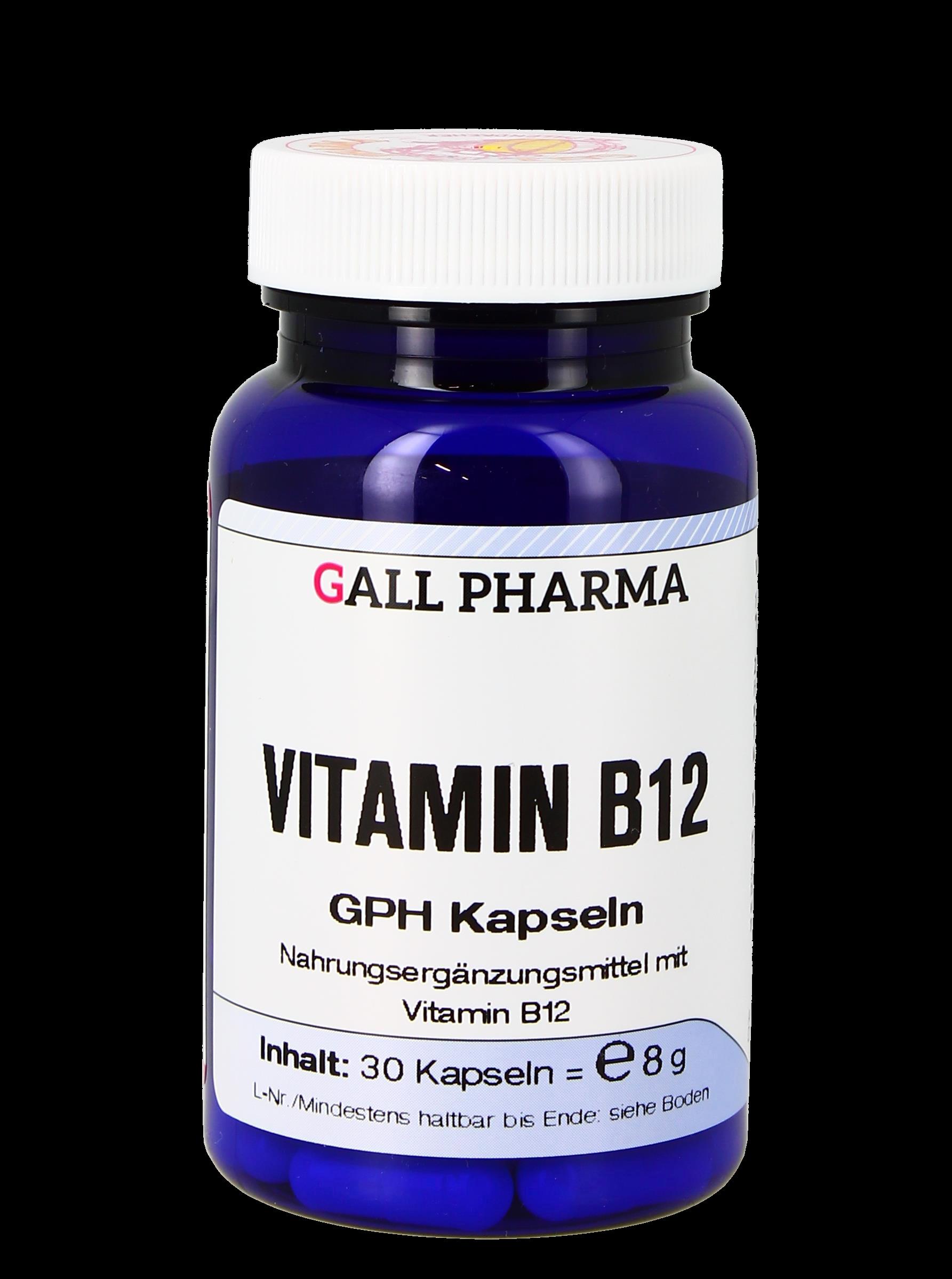Vitamin B12 300 µg GPH Kapseln