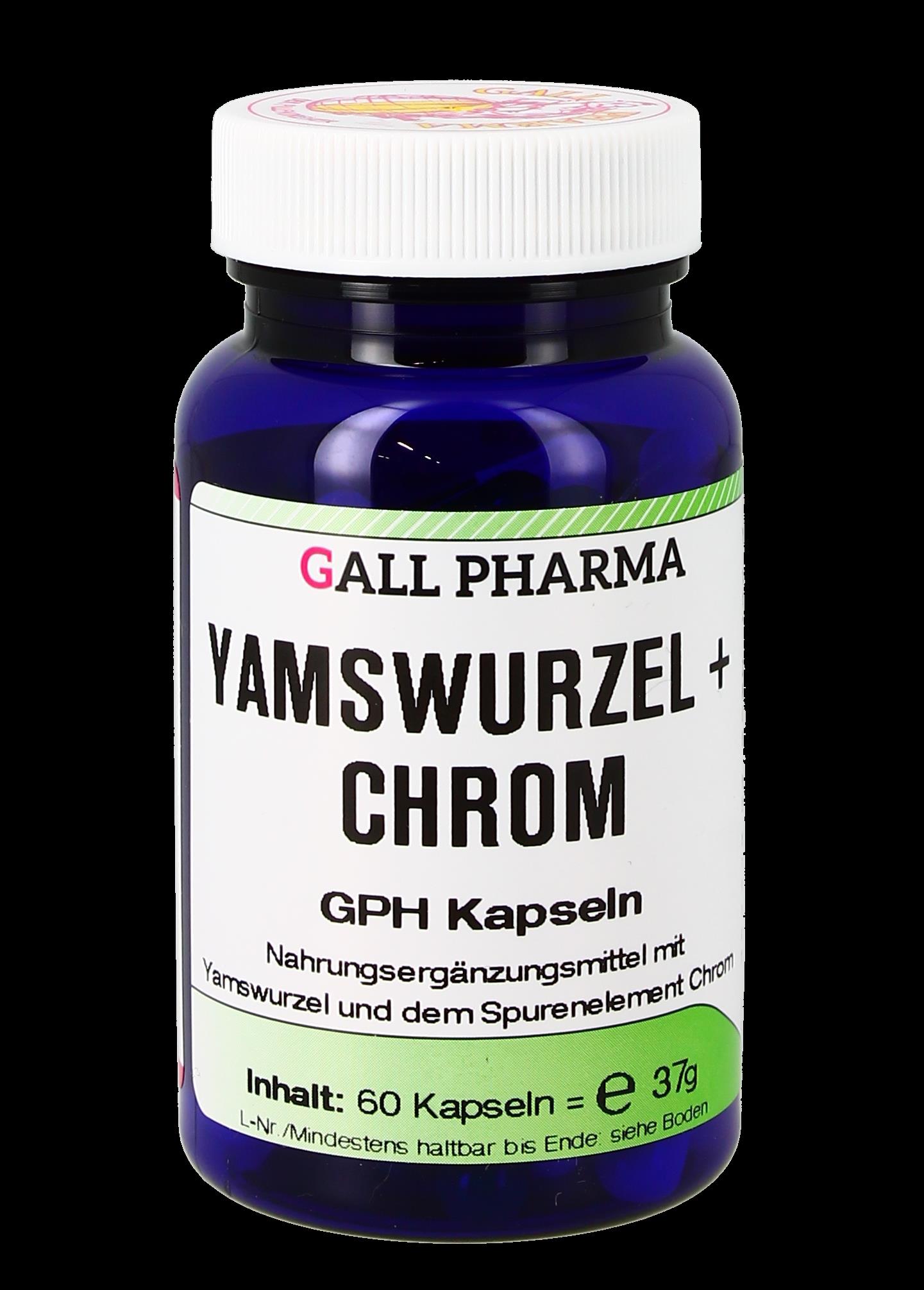 Yamswurzel + Chrom GPH Kapseln
