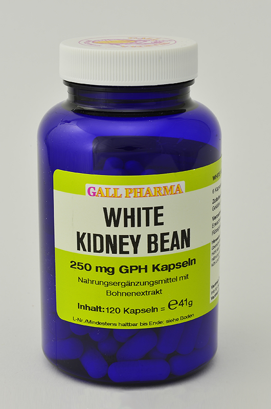White Kidney Bean 250 mg GPH Kapseln