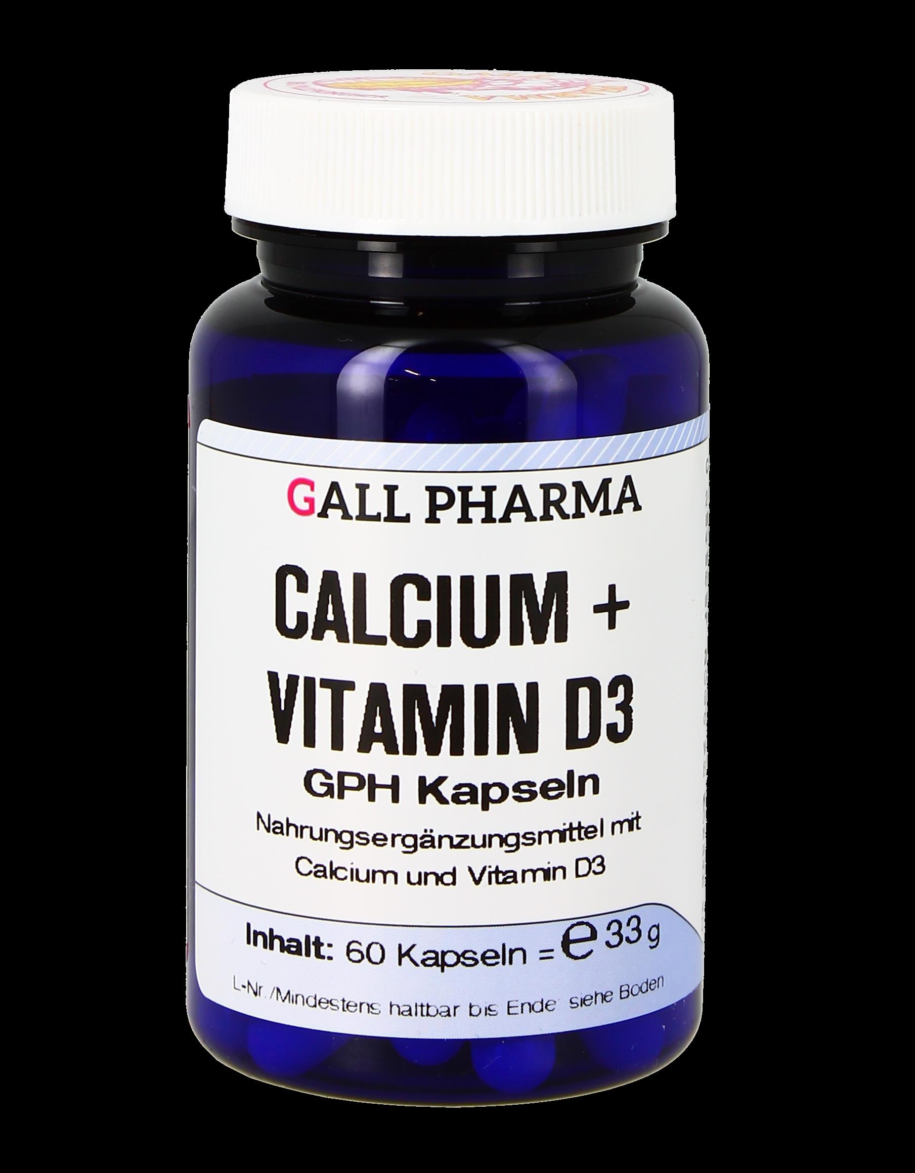 Calcium + Vitamin D3 GPH Kapseln