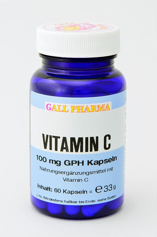 Vitamin C 100 mg GPH Kapseln