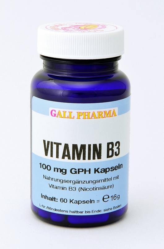 Vitamin B3 100 mg GPH Kapseln