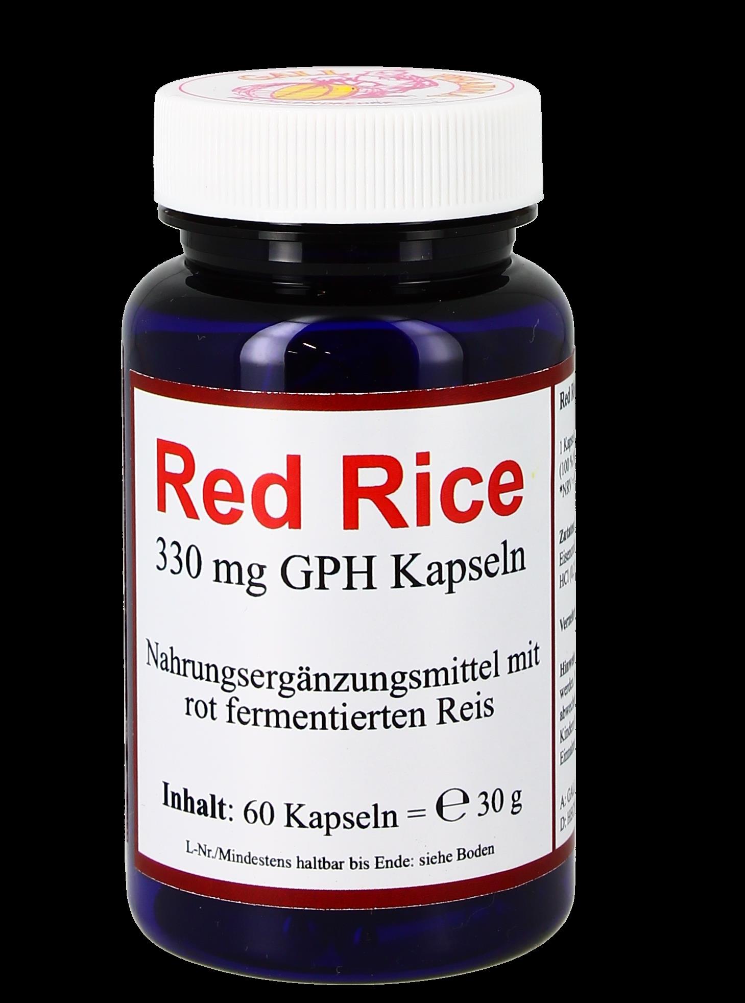 Red Rice 330 mg GPH Kapseln
