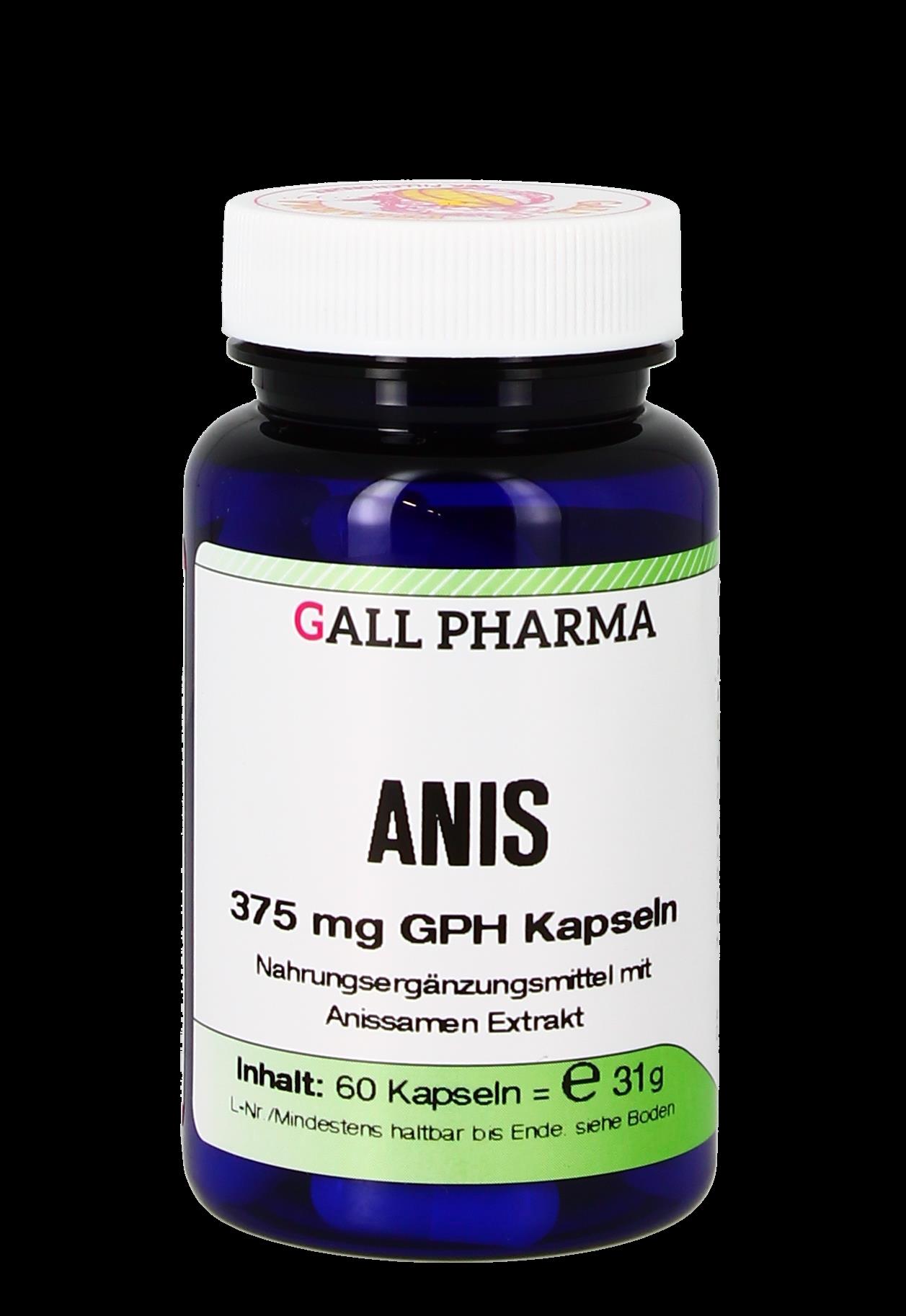 Anis 375 mg GPH Kapseln