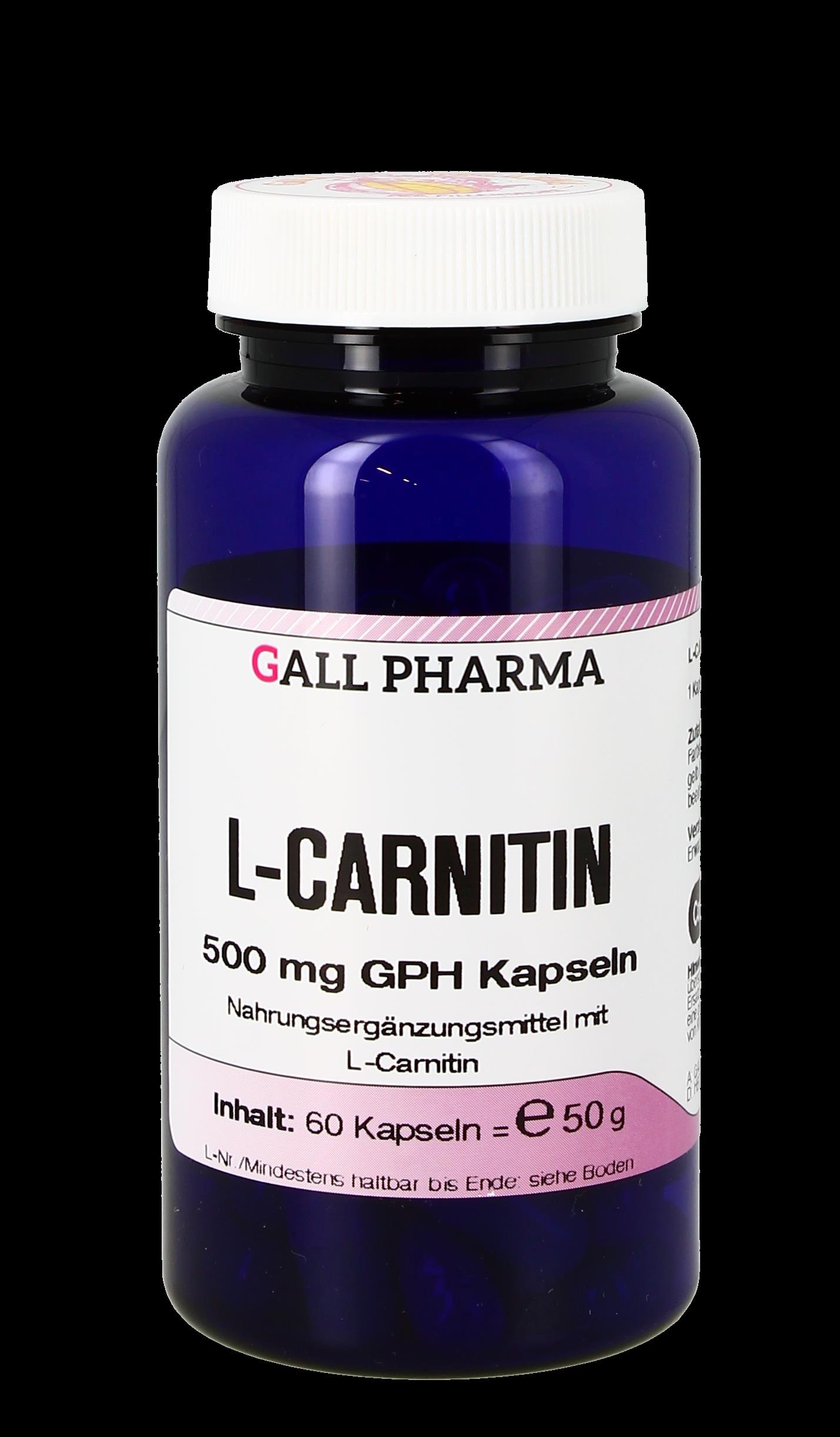 L-Carnitin 500 mg GPH Kapseln