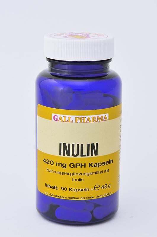 Inulin 420 mg GPH Kapseln