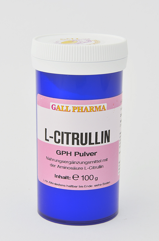 L-Citrullin GPH Pulver 100 g