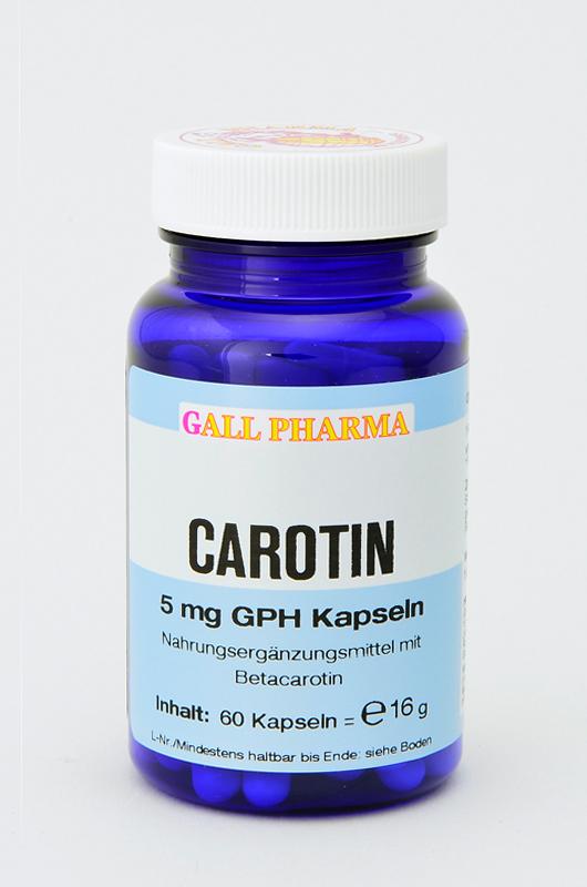 Carotin 5mg GPH Kapseln