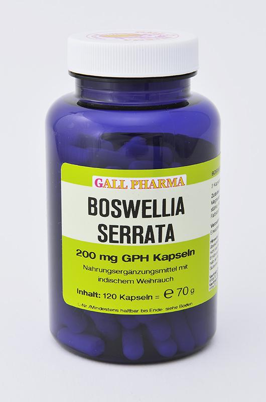 Boswellia serrata 200 mg GPH Kapseln