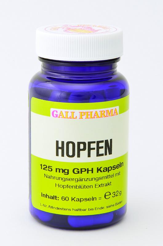 Hopfen 125 mg GPH Kapseln