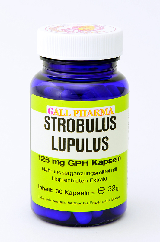 Strobulus Lupulus 125 mg GPH Kapseln