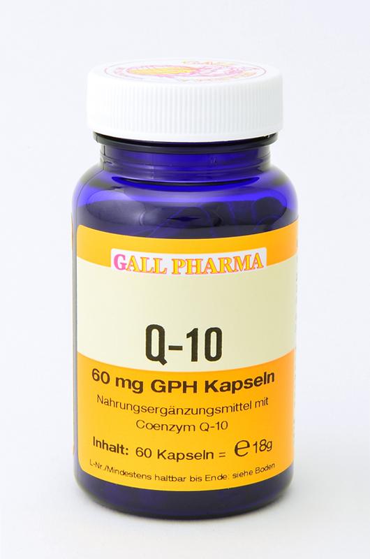 Q-10 60 mg GPH Kapseln
