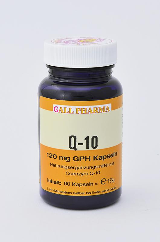 Q-10 120 mg GPH Kapseln