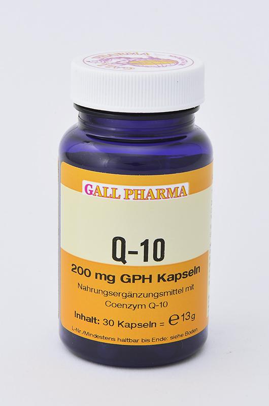 Q-10 200 mg GPH Kapseln