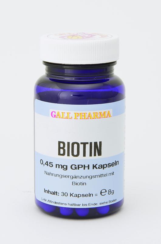 Biotin 0,45 mg GPH Kapseln