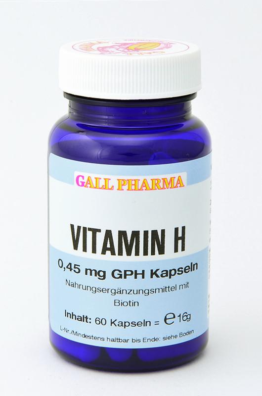 Vitamin H 0,45 mg GPH Kapseln