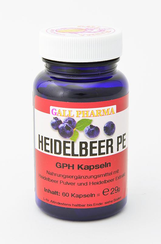 Heidelbeer PE 400 mg GPH Kapseln