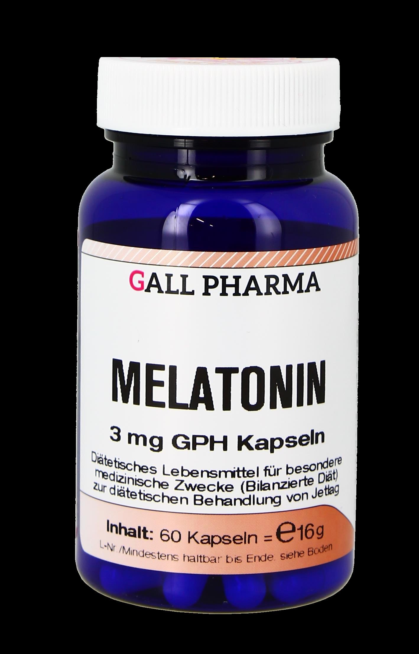 Melatonin 3,0 mg GPH Kapseln