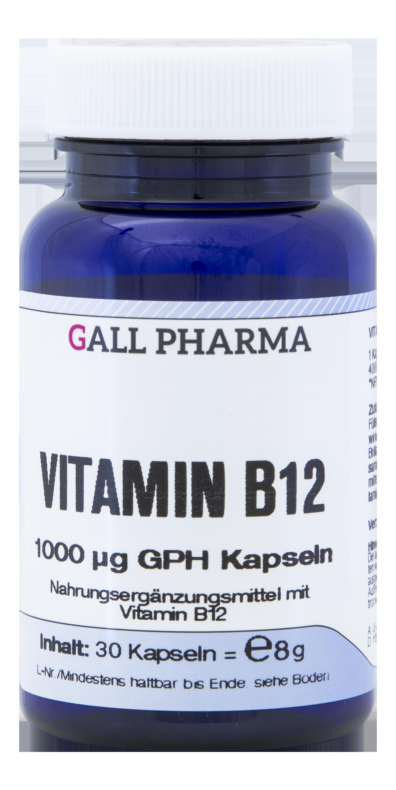 Vitamin B12 1000 µg GPH Kapseln