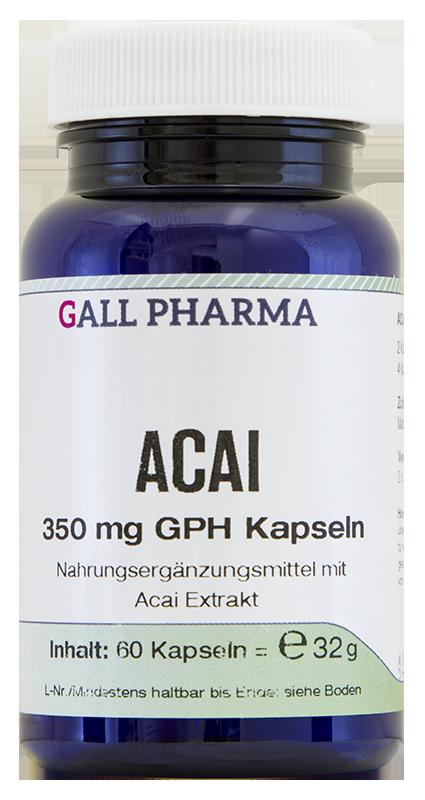 Acai 350 mg GPH Kapseln