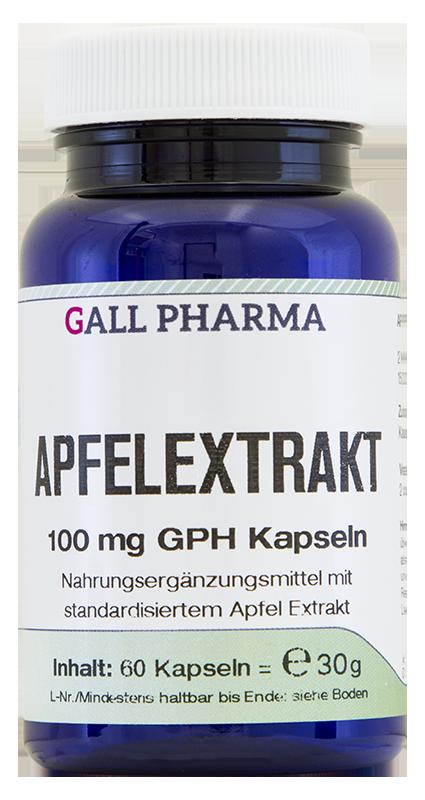 Apfelextrakt 100 mg GPH Kapseln