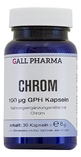 Chrom 100 µg GPH Kapseln