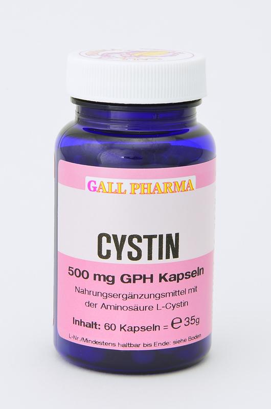Cystin 500 mg GPH Kapseln