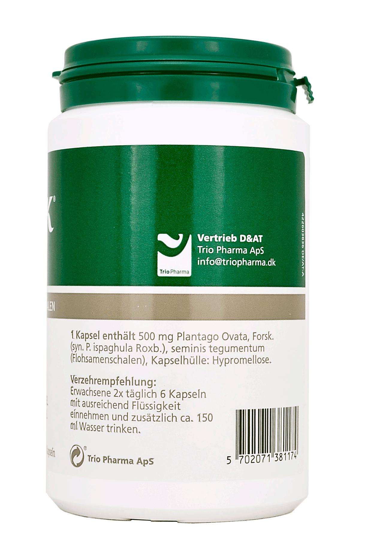 HUSK® Psyllium Flohsamenschalen Kapseln