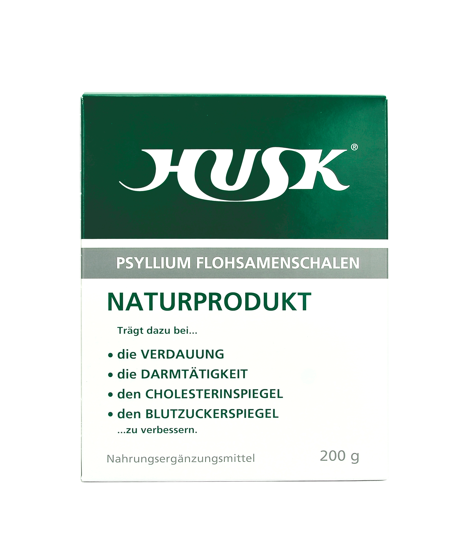 HUSK® Psyllium Flohsamenschalen