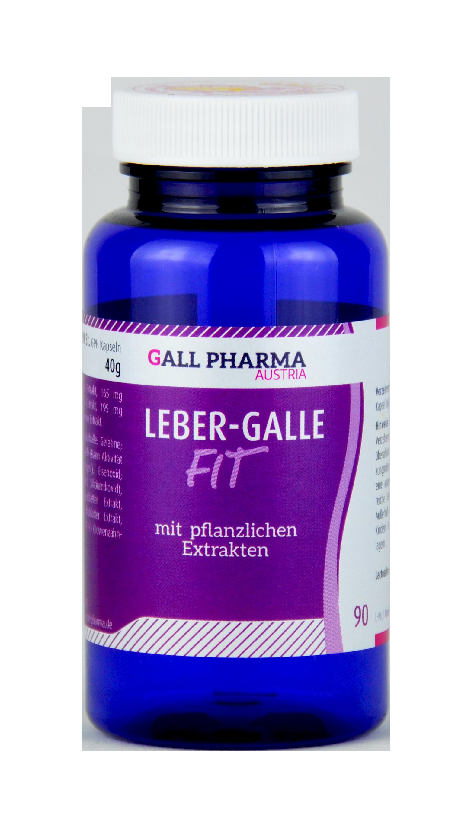 Leber-Galle-Fit GPH Kapseln