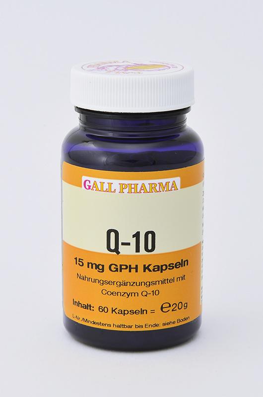 Q-10 15 mg GPH Kapseln