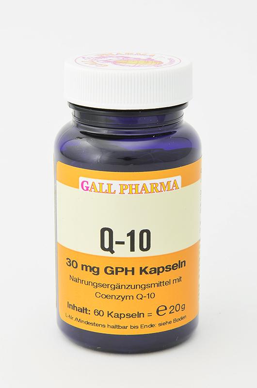 Q-10 30 mg GPH Kapseln