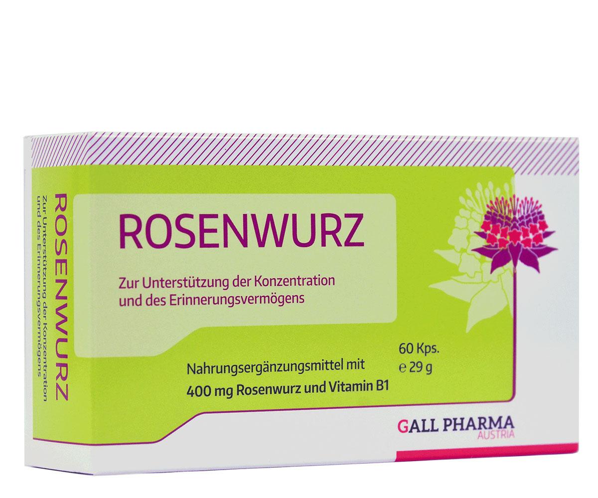 Rosenwurz 400 mg GPH Kapseln