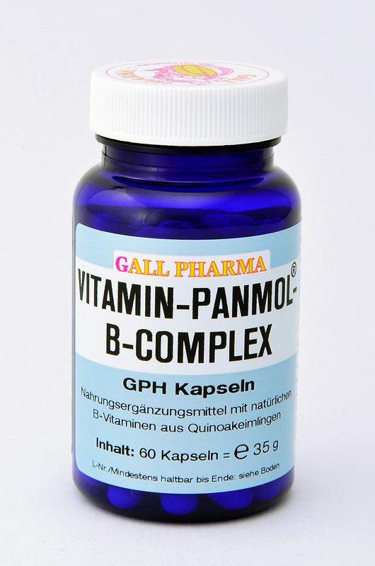 Vitamin-Panmol-B-Complex GPH Kapseln