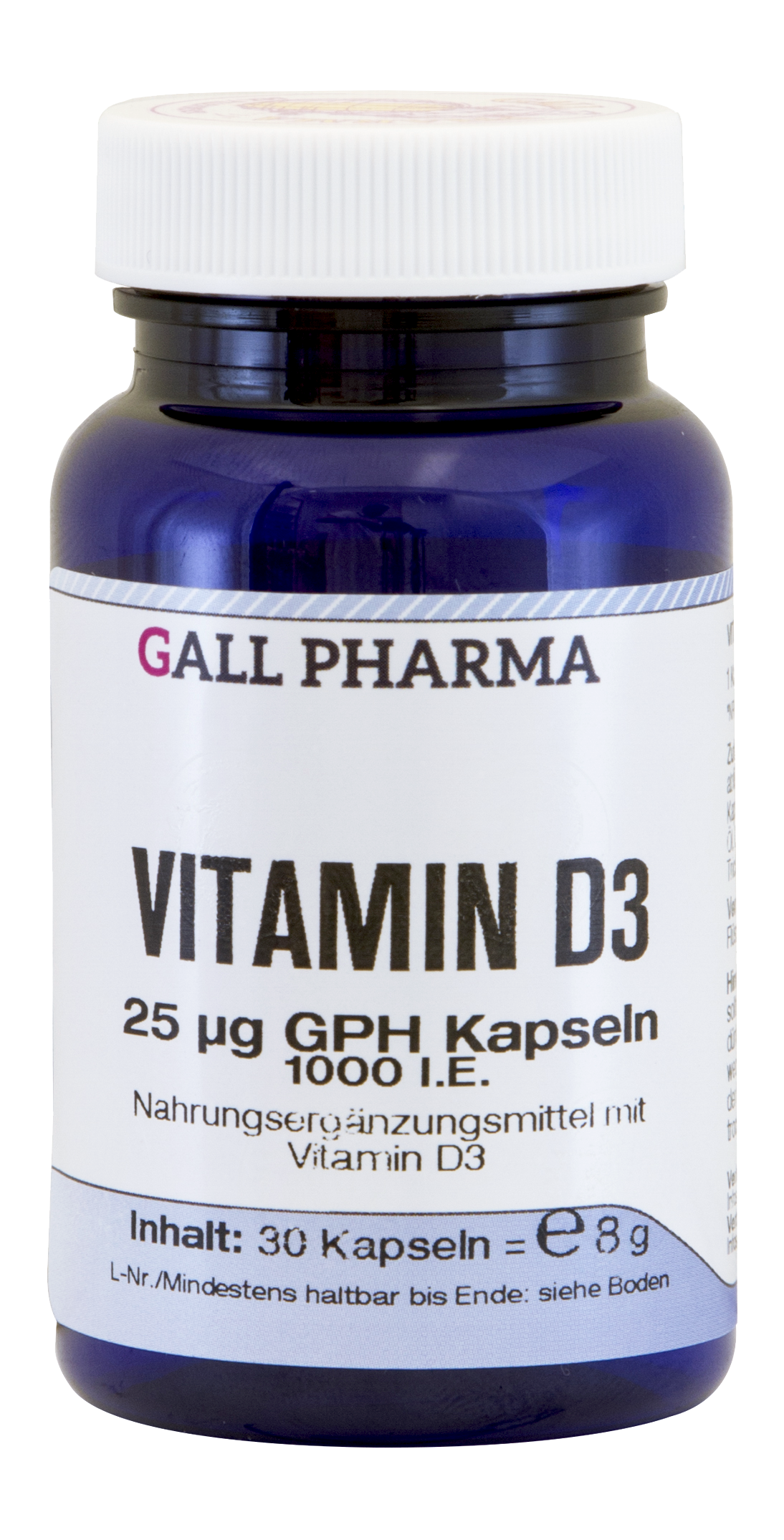 Vitamin D3 25 µg GPH Kapseln